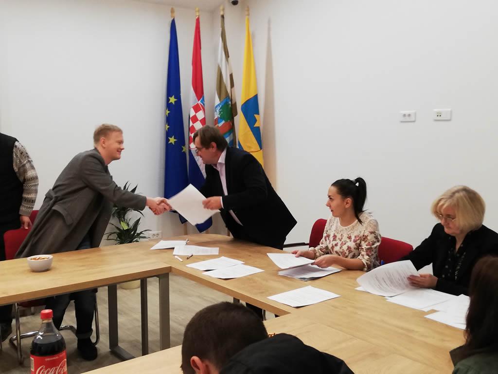 Potpisivanje ugovora- stipendije