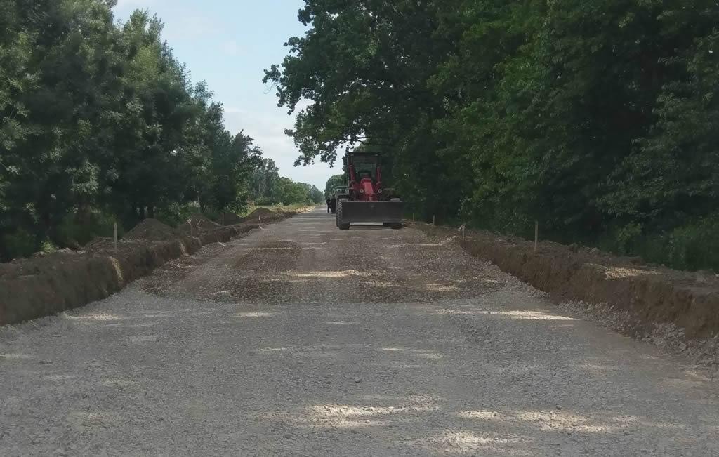 Izgradnja ceste Prkovci - Babina Greda