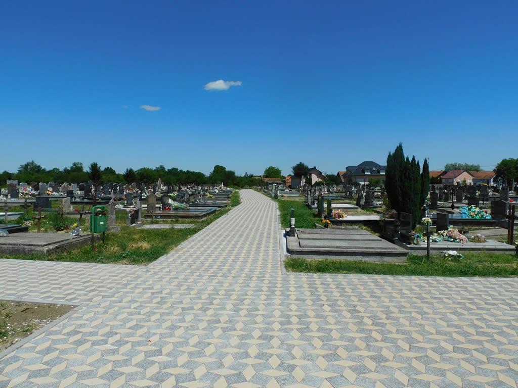 Rekonstrukcija groblja i pješačkih staza