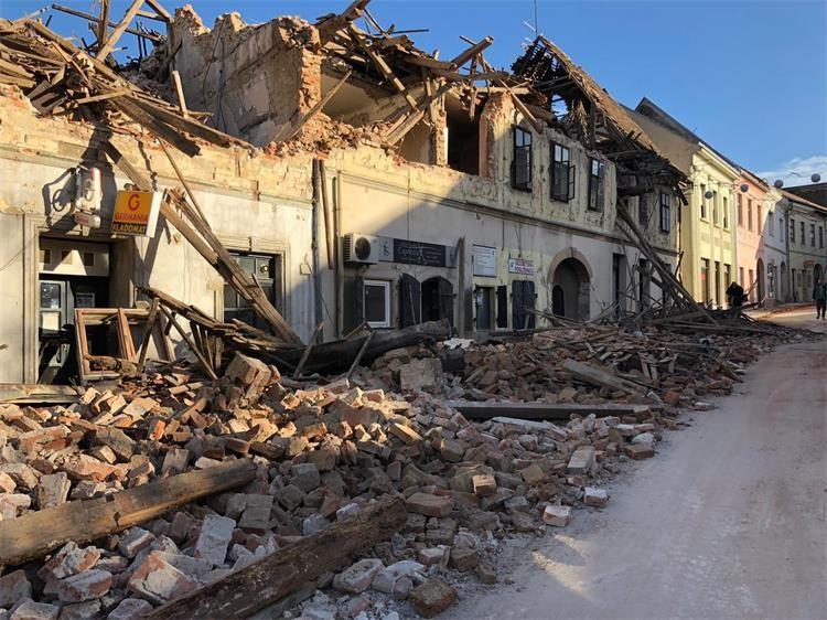 potres - Petrinja