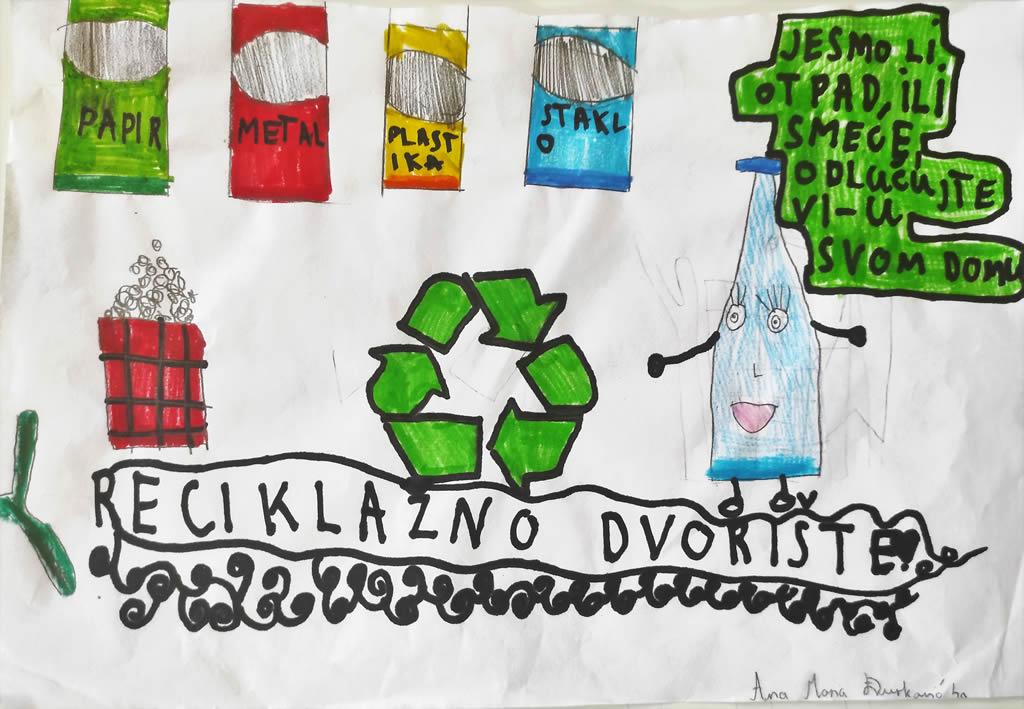 """Odabrani su najbolji radovi natječaja na temu """"Razvrstavanje otpada"""""""